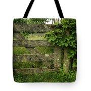 Rustic Gate Tote Bag