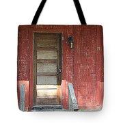 Rustic In Red Tote Bag
