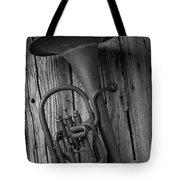 Rustic Old Horn Tote Bag
