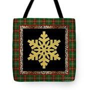 Rustic Snowflake-jp3689 Tote Bag