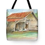 Rustic Southern Barn Tote Bag