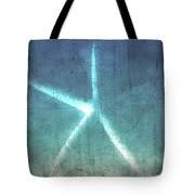 Rustic Starfish Tote Bag