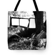 Rustic Truck Tote Bag