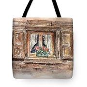 Rustic Window Tote Bag