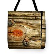 Rustic Wood Tote Bag