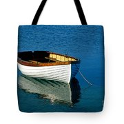Rustic Wooden Row Boat. Tote Bag