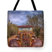 Rusting In Robson's Mining World Tote Bag