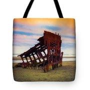 Rusting Shipwreck Tote Bag
