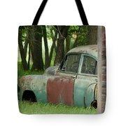 Rustmobile And Shack Tote Bag
