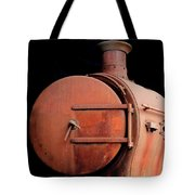 Rusty Abandoned Steam Locomotive Tote Bag