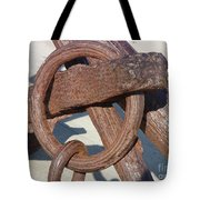 Rusty Anchor Chain Tote Bag