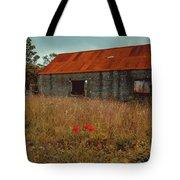 Rusty Barn Tote Bag