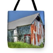 Rusty Barn Tote Bag