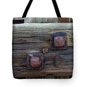 Rusty Bolts #2 Tote Bag