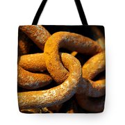 Rusty Chain Tote Bag