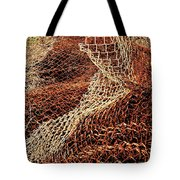 Rusty Chain Link Tote Bag