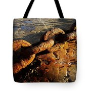 Rusty Chain Tote Bag