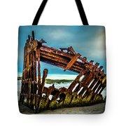 Rusty Forgotten Shipwreck Tote Bag