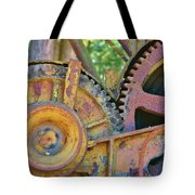 Rusty Gears Tote Bag