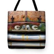 Rusty Gmc Truck Tote Bag