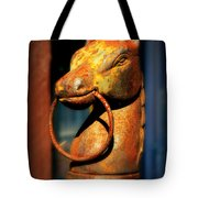 Rusty Horse Tote Bag
