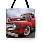 Rusty Jewel - 1948 Ford Tote Bag by Gill Billington