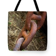 Rusty Links Tote Bag