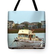 Rusty Old Boat Tote Bag