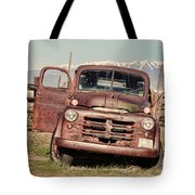 Rusty Old Dodge Tote Bag