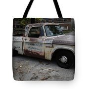 Rusty Old Dodge Tote Bag