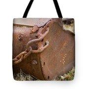 Rusty Old Ore Scoop Tote Bag