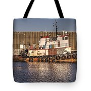 Rusty Old Tug Boat Tote Bag