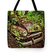 Rusty Plymouth Tote Bag