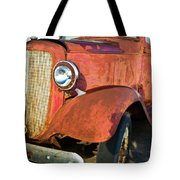 Rusty Red Chevrolet Pickup Truck 1934 Tote Bag
