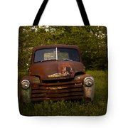 Rusty Red Chevy Tote Bag