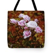 Rusty Romance In Pink Tote Bag by Ivana Westin