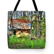 Rusty Roof Tote Bag