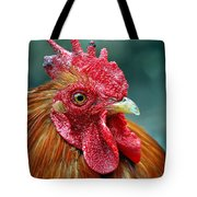 Rusty Rooster Tote Bag