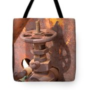 Rusty Sample Valve Tote Bag
