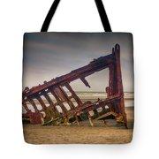Rusty Shipwreck Tote Bag