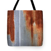 Rusty Siding Tote Bag