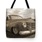 Rusty Studebaker In Sepia Tote Bag