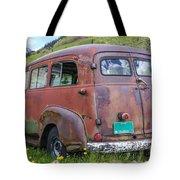 Rusty Suburban Tote Bag
