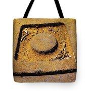 Rusty Texture Macro Tote Bag