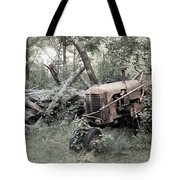 Rusty Tractor 2  Tote Bag