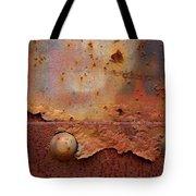 Rusty Train  Tote Bag