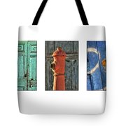 Rusty Triptych Tote Bag