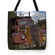 Rusty Truck Tote Bag