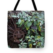Rusty Wheel Tote Bag
