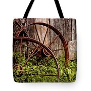 Rusty Wheels Tote Bag